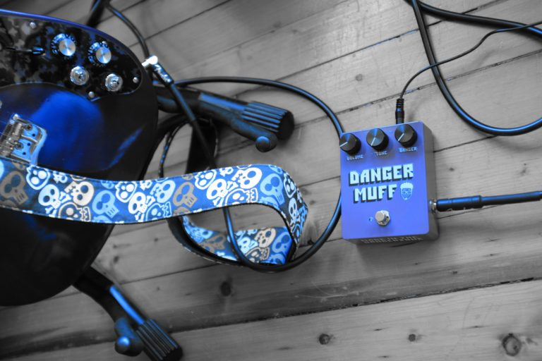 Danger Muff Custom Guitar Pedal
