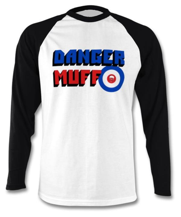 Danger Muff Mod Baseball T-Shirt