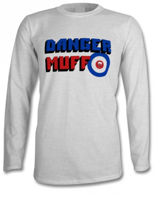 Danger Muff Mod Long Sleeved T-Shirt