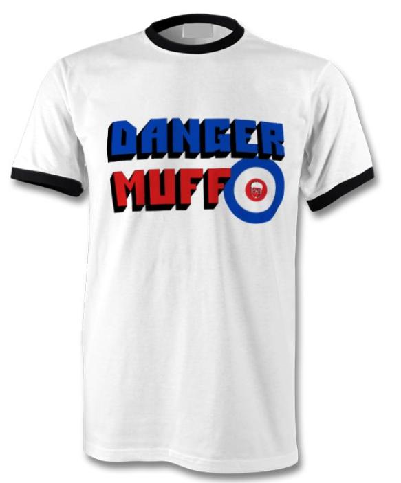 Danger Muff Mod Ringer T-Shirt