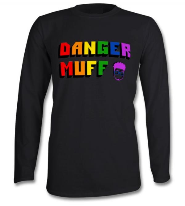 Danger Muff Pride Long Sleeved T-Shirt