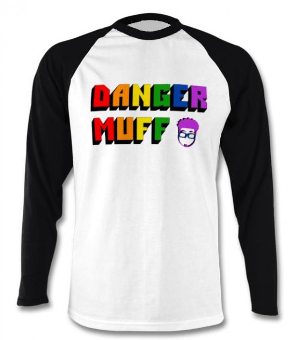 Danger Muff Pride Baseball T-Shirt