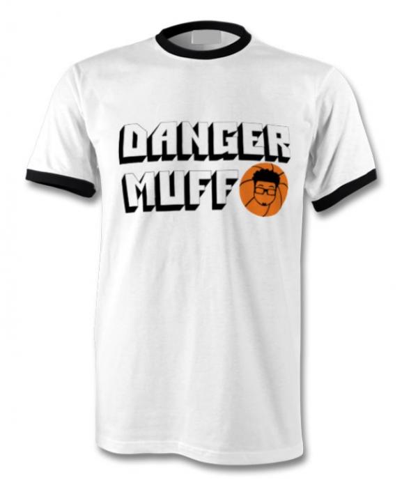 Danger Muff Basketball Ringer T-Shirt