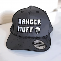 Black Danger Muff Cap